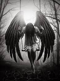 Broken Oscuras Y Negras Almas ángeles Caídos 88 Kresby Nápady