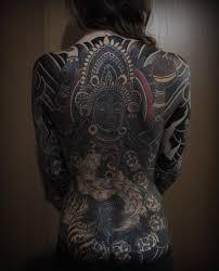 татуировки на все тело от японского мастера Zefirka