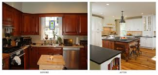 Remodeling For Kitchens Home Remodeling Before After A House Remodeling Before And After