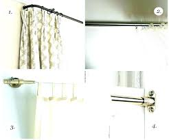 dual curtain rod dry traverse ds medium size of inches hanging double curtains set home depot loft shower ro