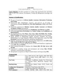 Quality Analyst Cv Quality Assurance Engineer Resume Examples Pinterest Sample