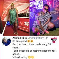 Hot 96 radio presenter Annitah Raey... - Nairobi Gossip Club   Facebook