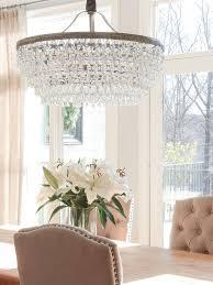Crystal Dining Room Chandelier Custom Decoration
