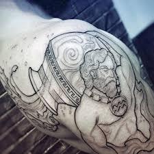 70 Aquarius Tetování Pro Muže Astrologické Inkoustové Nápady