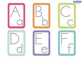 Free Alphabet Flash Cards Free Printable Dotted Alphabet Flash Cards Creative Center