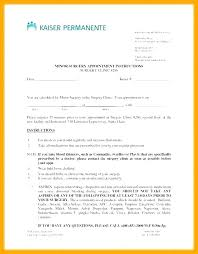 Kaiser Doctors Excuse Note Kaiser Doctors Note Template Lovely Templates Download Free
