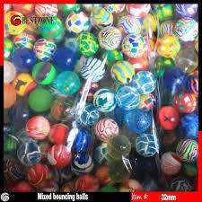 Bouncy Ball Vending Machine Custom Creative 48mm Rubber Bouncing Ball Bouncy Balls For Toy Ball Vending