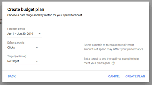 Budgeting Tools 2020 Google Ads Rolling Out Budget Planner Forecasting Tool