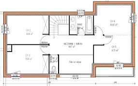 Maison Individuelle Contemporaine Plan