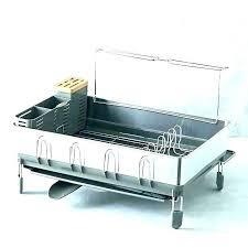 adorable dish drying rack drying dish racks dish racks bed bath and beyond dish rack bed
