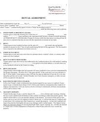Sample Blank Lease Templates | Download Free & Premium Templates ...