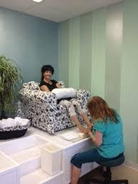 home nail salon decorating ideas pedicure station throne ideas