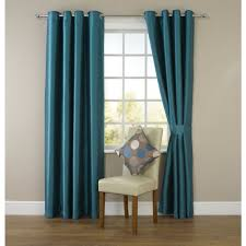 Teal Living Room Curtains Wilko Faux Silk Eyelet Curtains Dark Teal For The Living Room