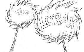 Lorax Coloring Pages The Coloring Pages Well Paged For Children