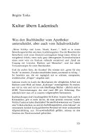 Kultur Bern Ladentisch Springer
