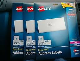 Avery Template 8860 3 Avery 8860 Easy Peel Address Labels 1080 Labels 36 Sheets