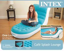 inflatable lounge furniture. Amazon.com: Intex Splash Inflatable Lounge, 33\ Lounge Furniture