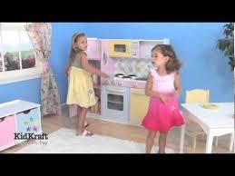"<b>Kidkraft</b> ""Wooden"" Large <b>Pastel</b> Kitchen - Item 53181 - YouTube"