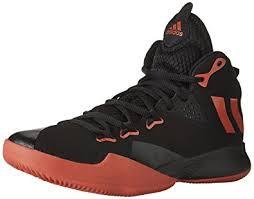 adidas basketball shoes 2017. adidas men\u0027s dual threat 2017 basketball shoes, scarlet/core black/footwear white, shoes