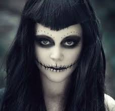 image result for how to do ghoul makeup