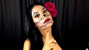 chola clown makeup