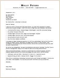 Pilot cover letter