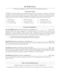 Accounting Clerk Resume Sample Accounting Clerk Resume Samples