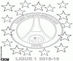 Kleurplaat Paris St Germain Kampioen Van 2015 2016 Kleurplaten
