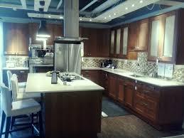 Medium Brown Kitchen Cabinets Ikea Tempe Medium Brown Cabinets Light Almond Roca
