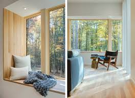 Modern Window Seat Inspiration. Modern Home in NY's Hudson Valley by Studio  MM Architect