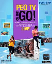 Peo Tv On The Go On From Slt Mobitel Mobitel