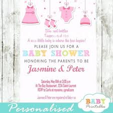 Girl Baby Shower Invitations Enorme Info