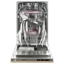 Slimline Kitchen Appliances Blomberg Integrated Slimline Dishwasher A Energy Rating