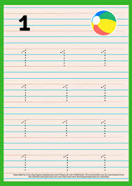 Writing Practice Worksheet Numbers Writing Practice Worksheets For Kids 3 5 Yrs And Above Number Writing Cover Page 32 Activities Printables Worksheets