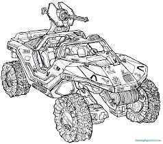 halo 4 coloring pages for kids