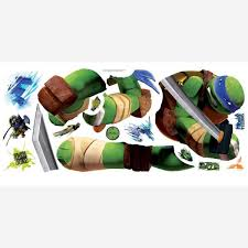 Transform any room in minutes with homeevolution jungle animals world map peel & stick wall decal. Wall Decor Teenage Mutant Ninja Turtles Leo Peel And Stick Tmnt Wall Decals Sticker For Boys Kids Room Comic Wall Art Decor Homeevolution Hevnj Wall Stickers Murals
