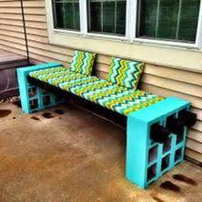 cinderblock furniture. Cinder Block Furniture Backyard 06 Cinderblock R