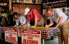Committee Working For Equal Liquor Sales Rules In Brown County