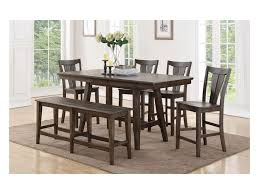 Dining room table bench Coastal Daphne 78 Dunk Bright Furniture Winners Only Daphne 78