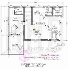 design a floor plan. Design House Layout Plan Lovely Floor And Elevation 2277 Sq Ft Of A