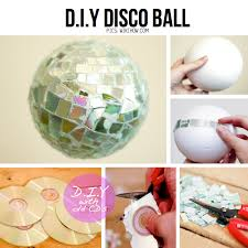 Mini Disco Ball Decorations esferas cds Proyectos que debo intentar Pinterest Follow me 86