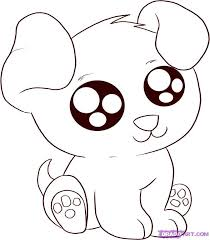 Small Picture Cute Animal Coloring Pages Anime Animals Coloring Pages