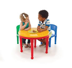 Table Set For Kids Kids Activity Table Set Chairs Toddler Play Room Construction Lego