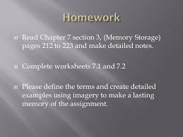 CHAPTER SEVEN: MEMORY Learning Goal One: Identify three ...