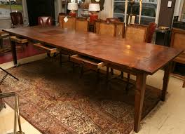 teak dining room