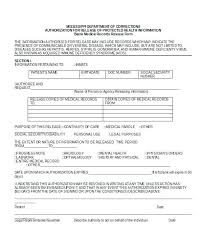 Sample Medical Records Release Form Medical Records Release Template