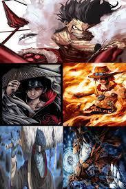 One Piece Vs Naruto Fight
