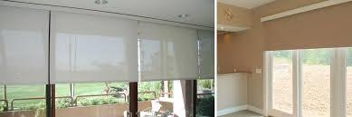 roller shades for sliding glass doors