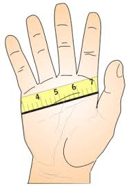 how to measure hand size for gloves topkayaker nets paddle glove size chart