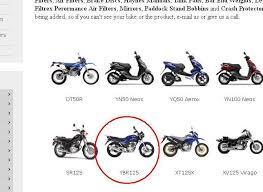 yamaha motorcycle parts spares and accessories msa direct